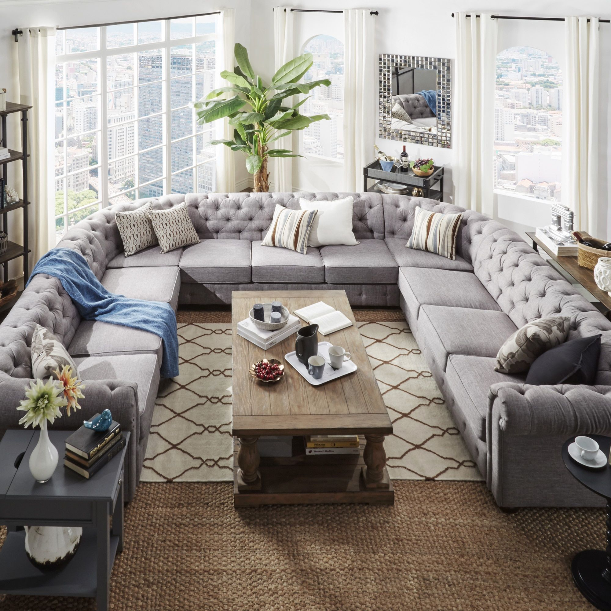 Sectional Sofas Provide Ample Seating With Sectional