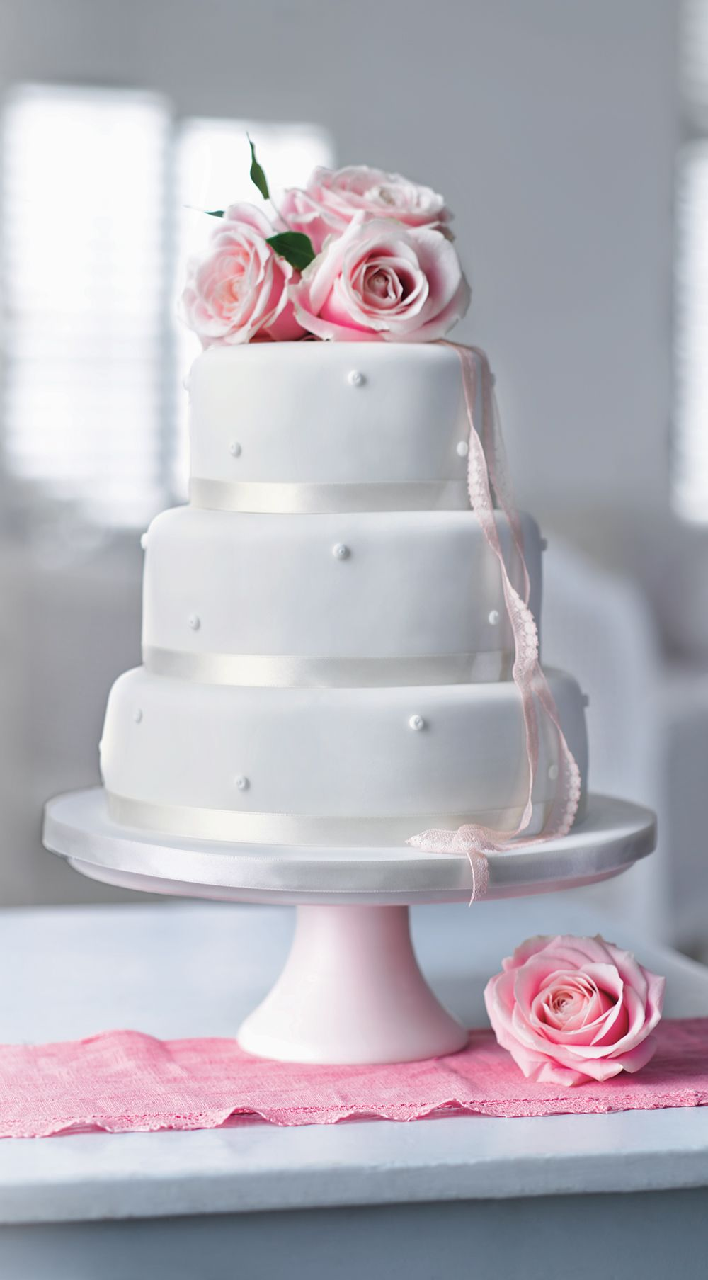 Romantic Pearl Assorted Wedding Cake | M&S | Wedding Cakes ...