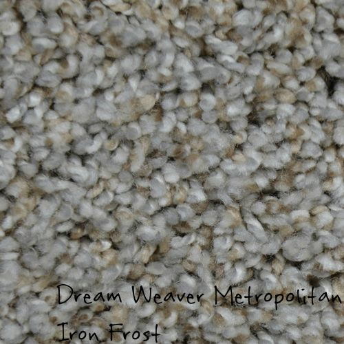 Dream Weaver Carpet Metropolitan Iron Frost Solution Dyed