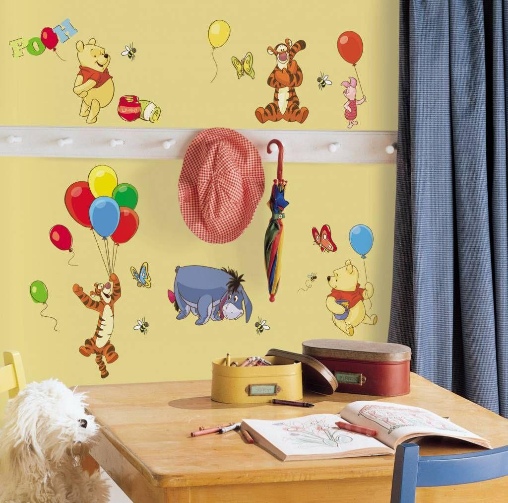 Disney Winnie de Pooh en vriendjes muursticker te koop bij www ...