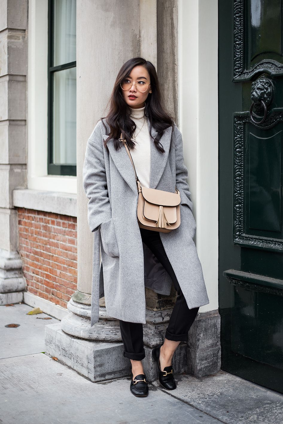 3 WAYS TO STYLE YOUR GREY COAT  f259543d265