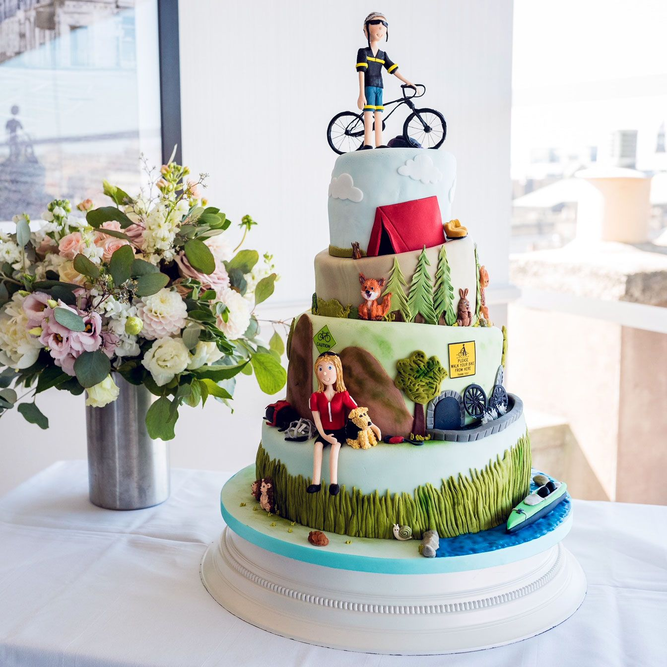 Google Image Result For Https W Rainbowsugarcraft Co Uk Images Biking Wedding Cake Jpg Novelty Wedding Cakes Wedding Cake Supplies Cake Decorating