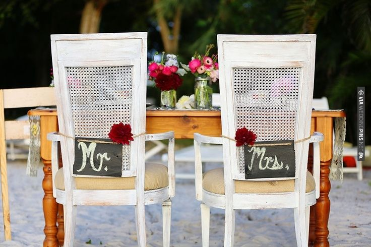 sweetheart table signs | VIA #WEDDINGPINS.NET