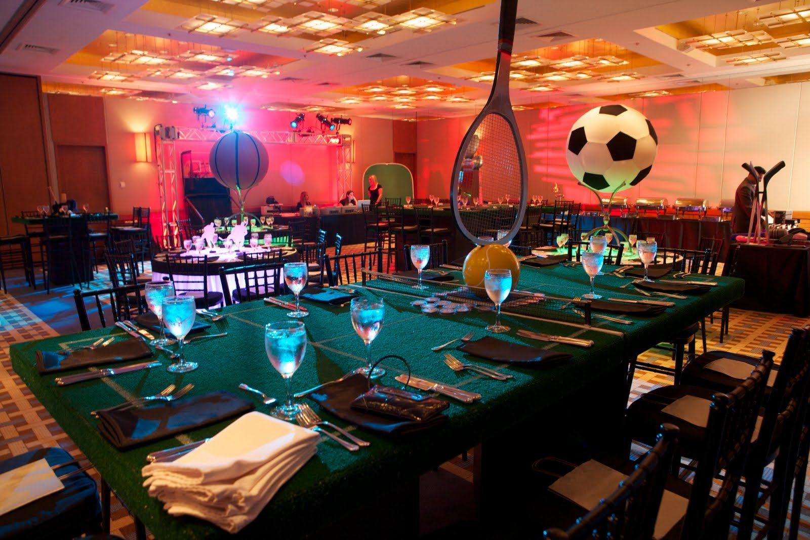 Multi Sport Theme Bar Mitzvah Check Out The Table Gives