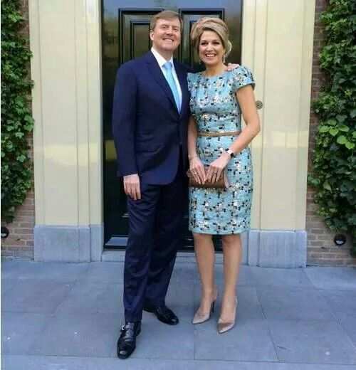 Our King and Queen on Kingsday the Netherlands.