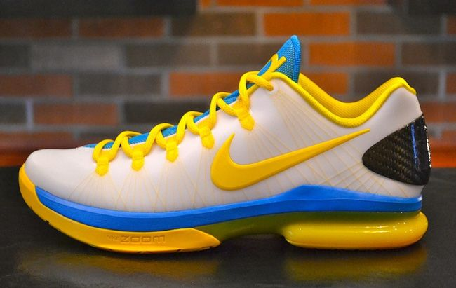 "newest f8379 004de Nike KD V Elite ""Playoffs Home"" I Dropping on Saturday"