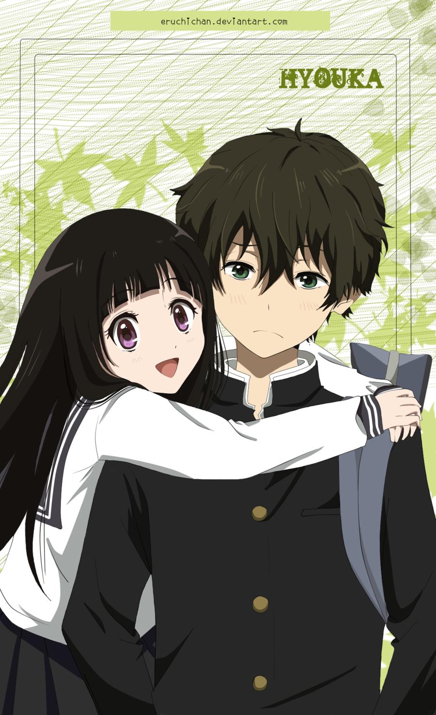 Hyouka eruhotaru by EruChichan on deviantART Anime