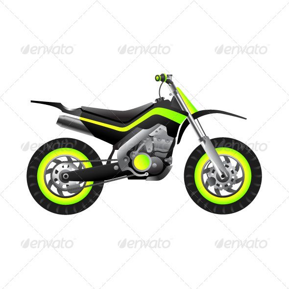 Futuristic Neon Bike | Sport Vector | Racing motorcycles, Bike