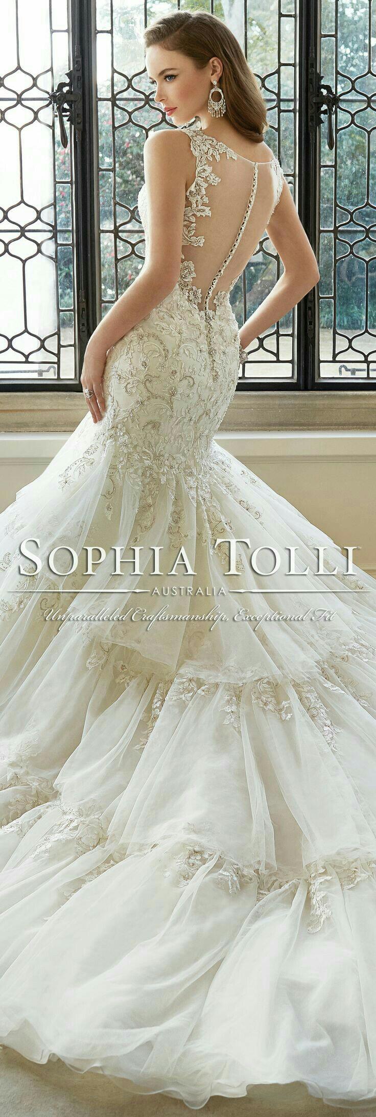 Pin de Trinh Deo en Wedding dresses   Pinterest   Vestidos de novia ...