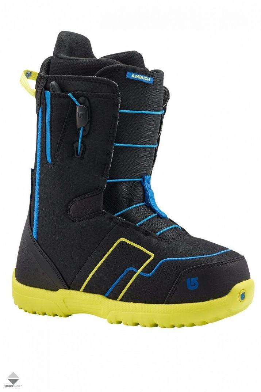 Buty Snowboardowe Dzieciece Burton Ambush Smalls Black Navy 11672101444 Boots Snowboard Boots 2015 Boots