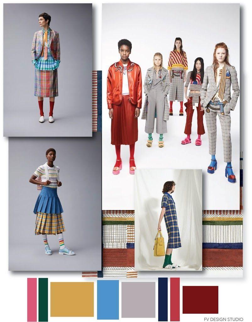 FV TREND x COLOR   Fashion trending moodboard, Fashion