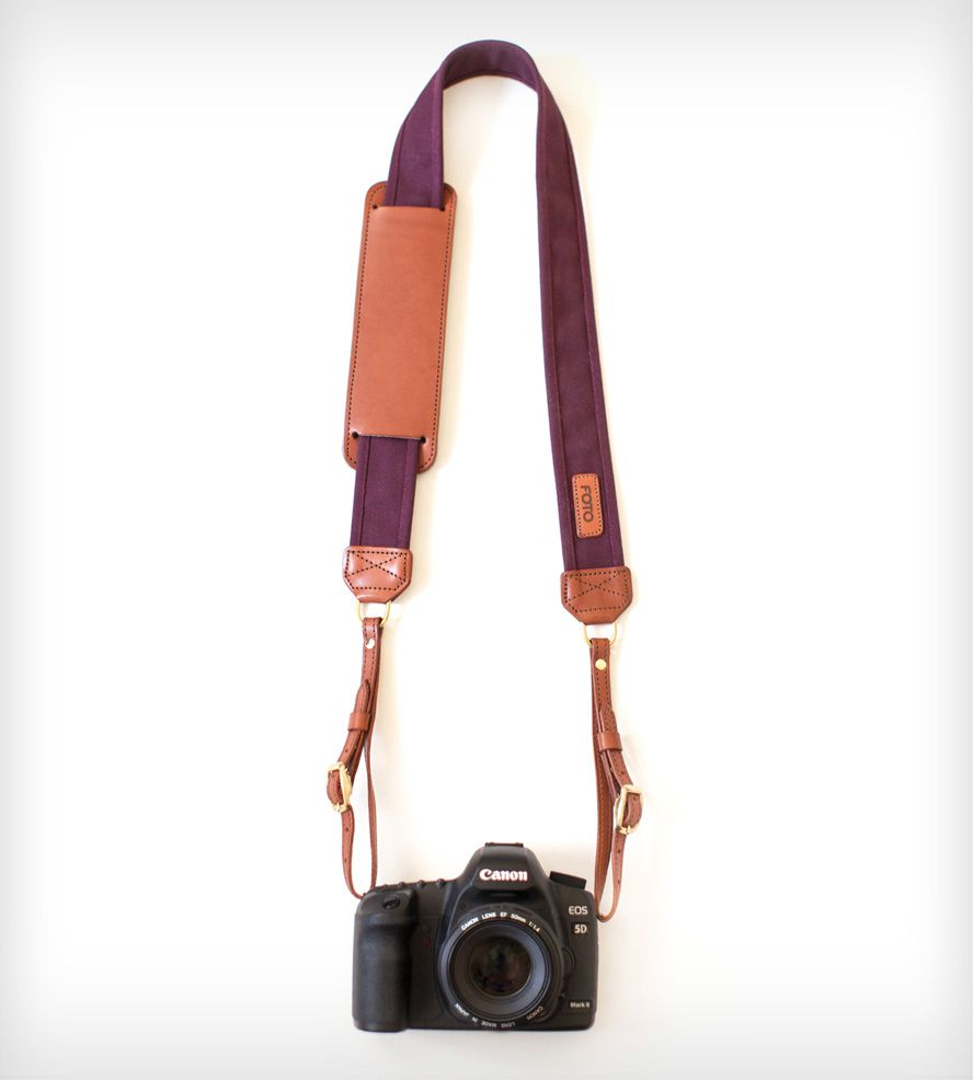 Leather Camera Strap - Merlot | Gifts Just Because | Fotostrap | Scoutmob Shoppe | Product Detail