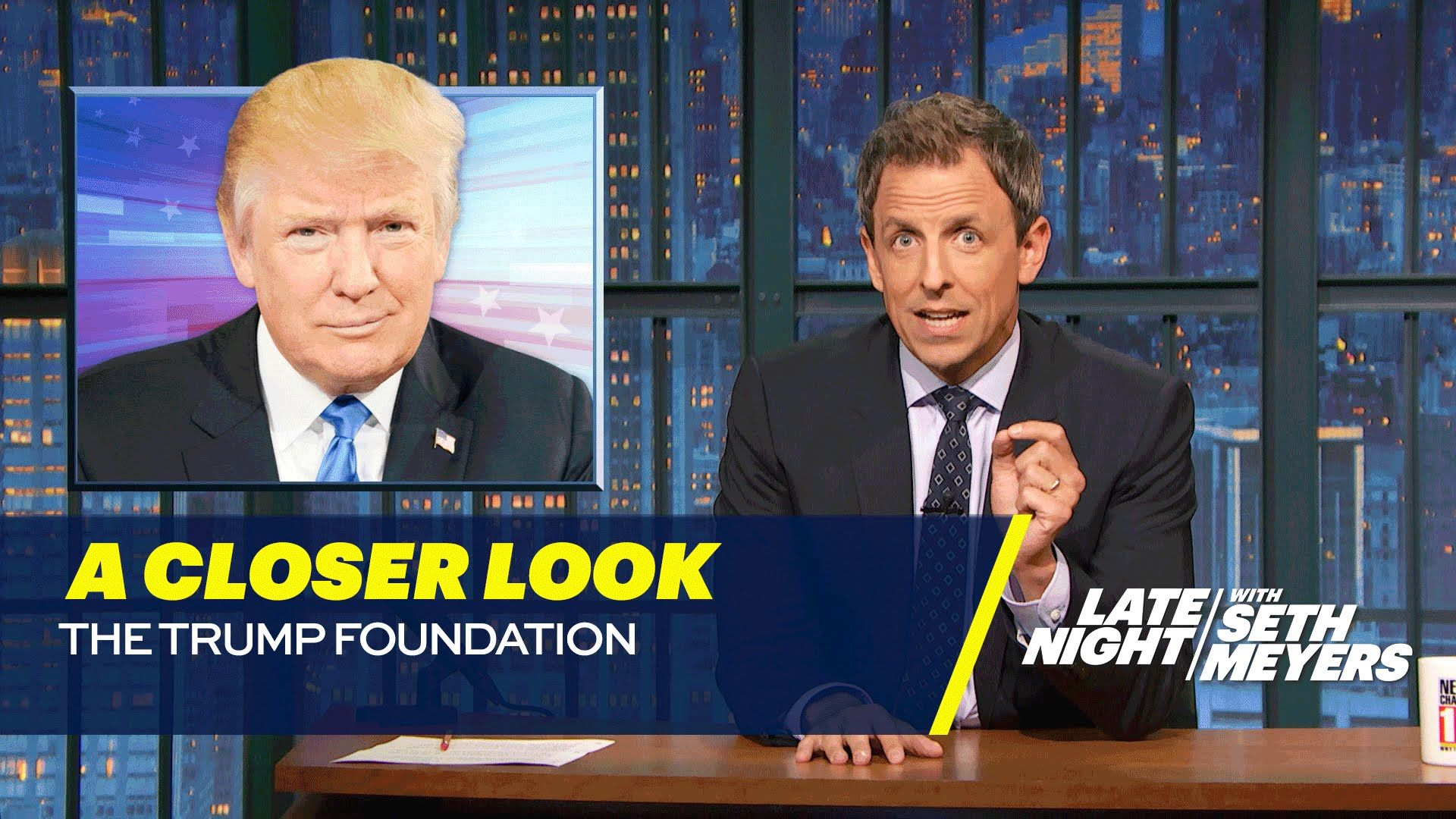 A Closer Look The Trump Foundation