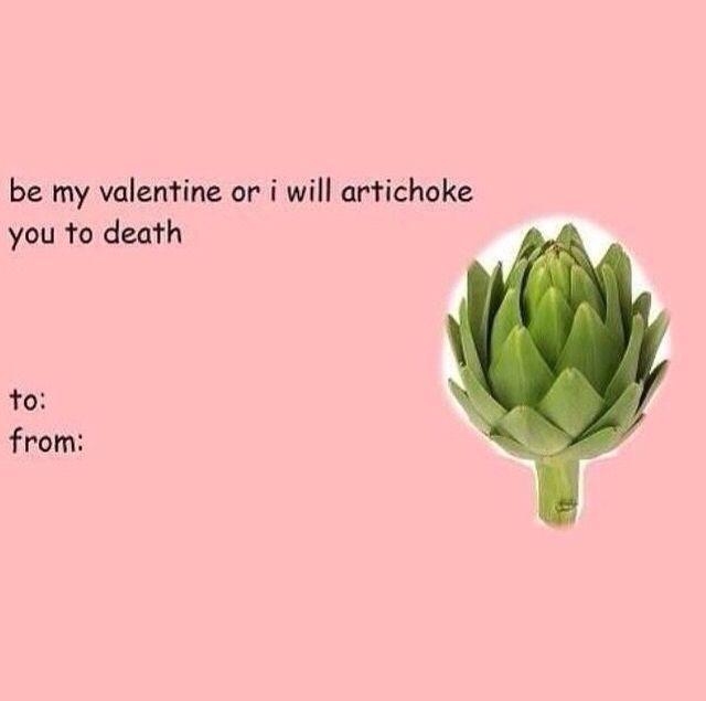 Corny Valentine/'s Day Card