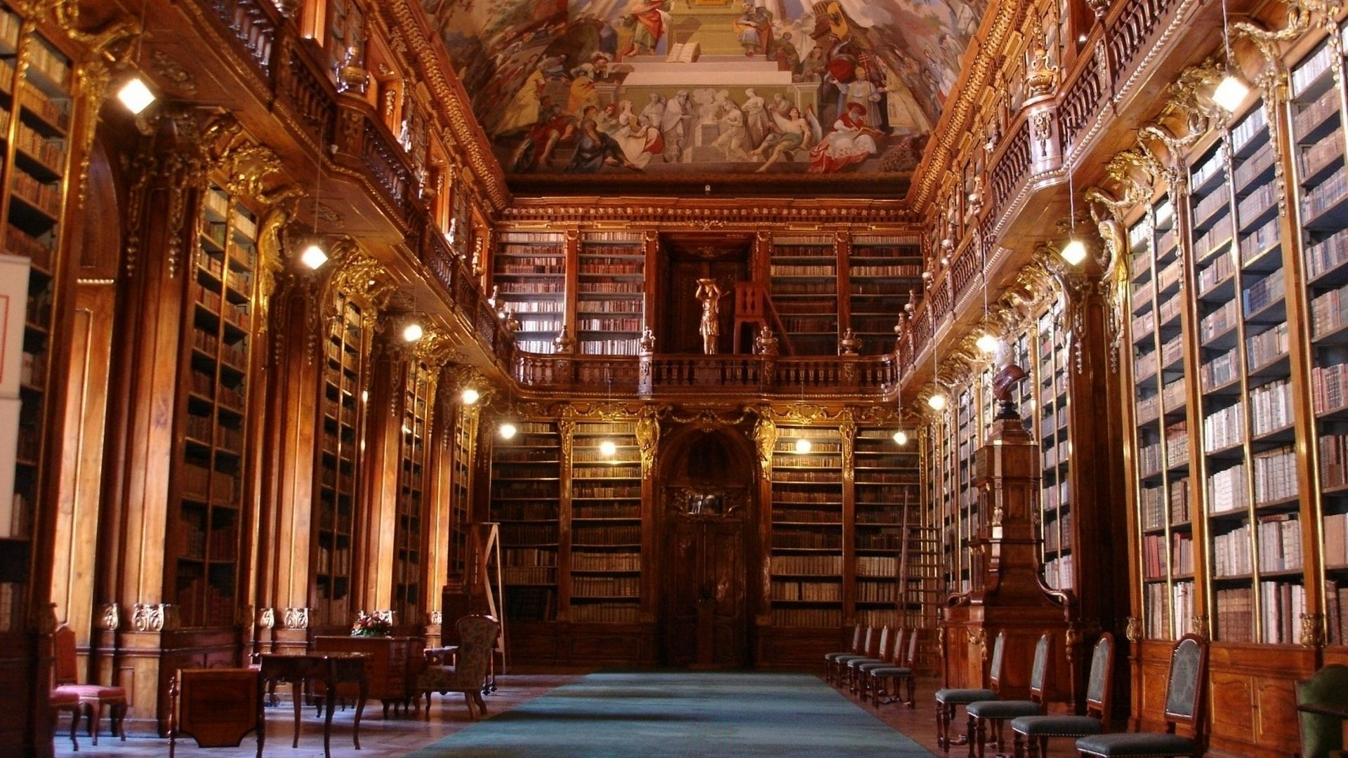 Old Library wallpaper | ℬooks ㋡ ℳania | Pinterest