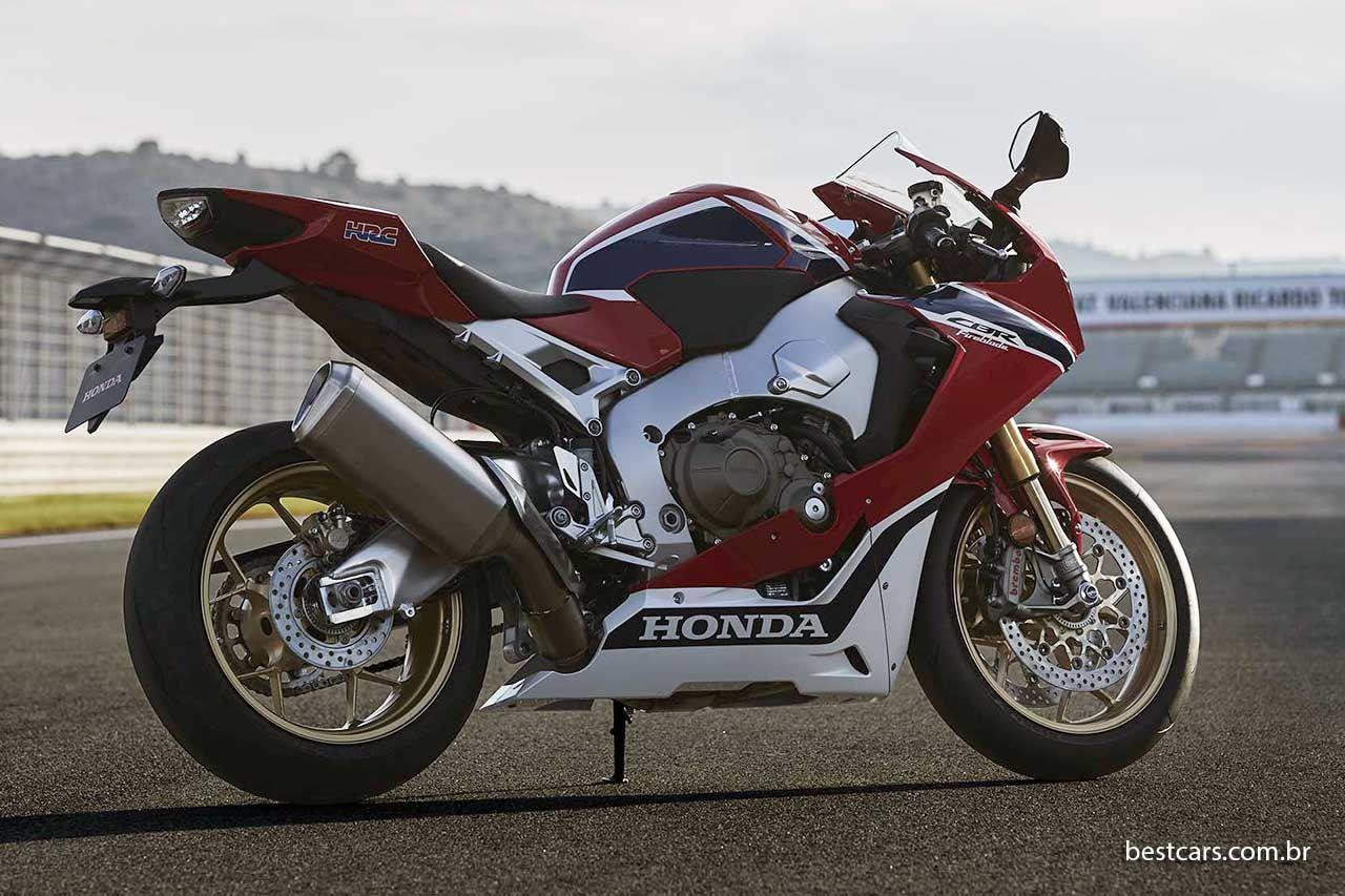 Honda CBR 1000 RR SP traz 190 cv e mais eletrônica