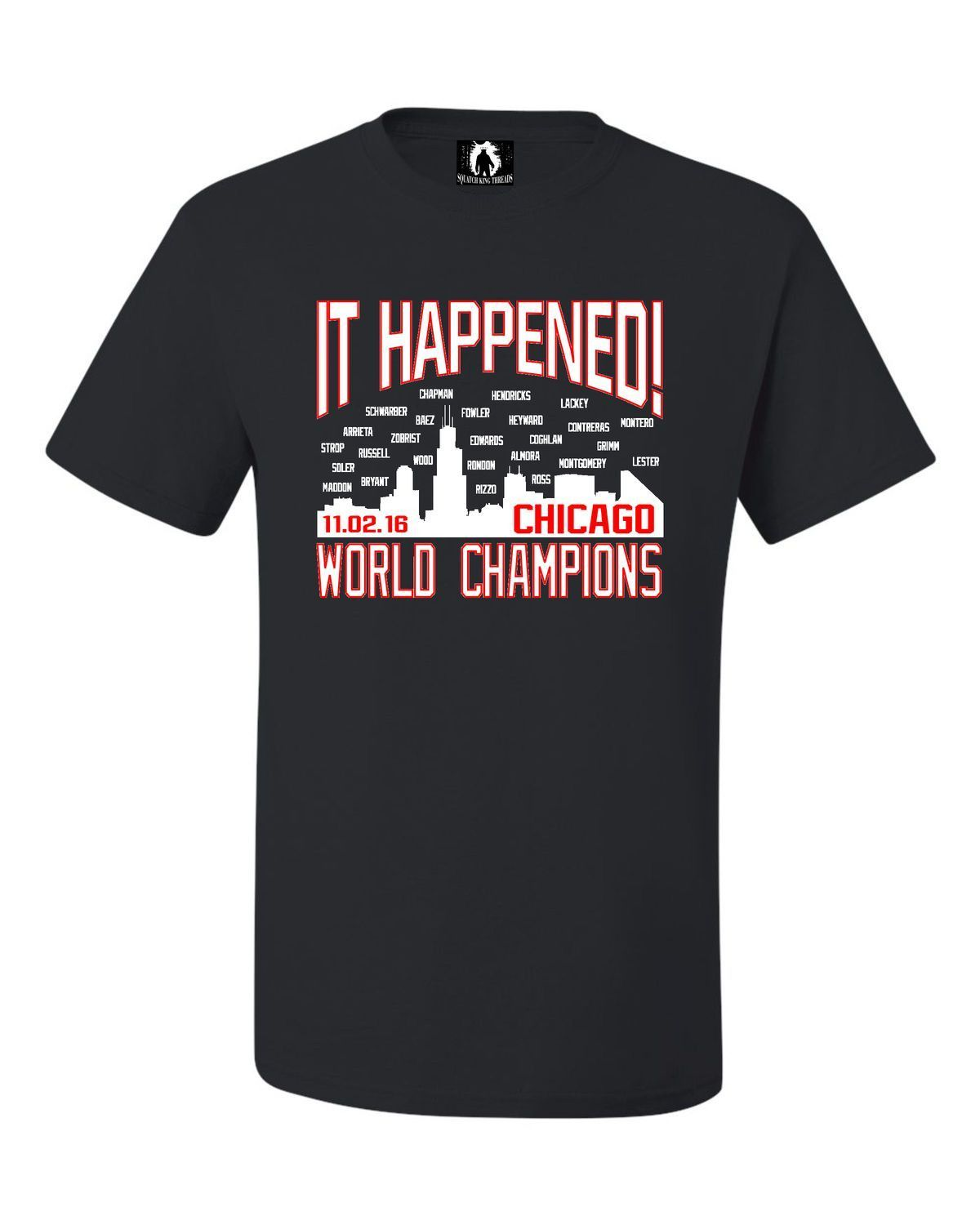 Youth It Happened! Chicago World Champions T-Shirt