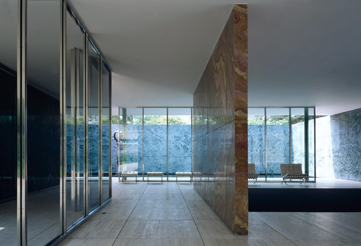 Barcelona Pavillion  //  Mies Van der Rohe  //  Photo by Klaus Frahm