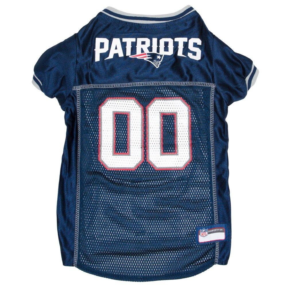 dc7c6b5cb New England Patriots Pets First Mesh Pet Football Jersey - Navy Xxl,  Multicolored