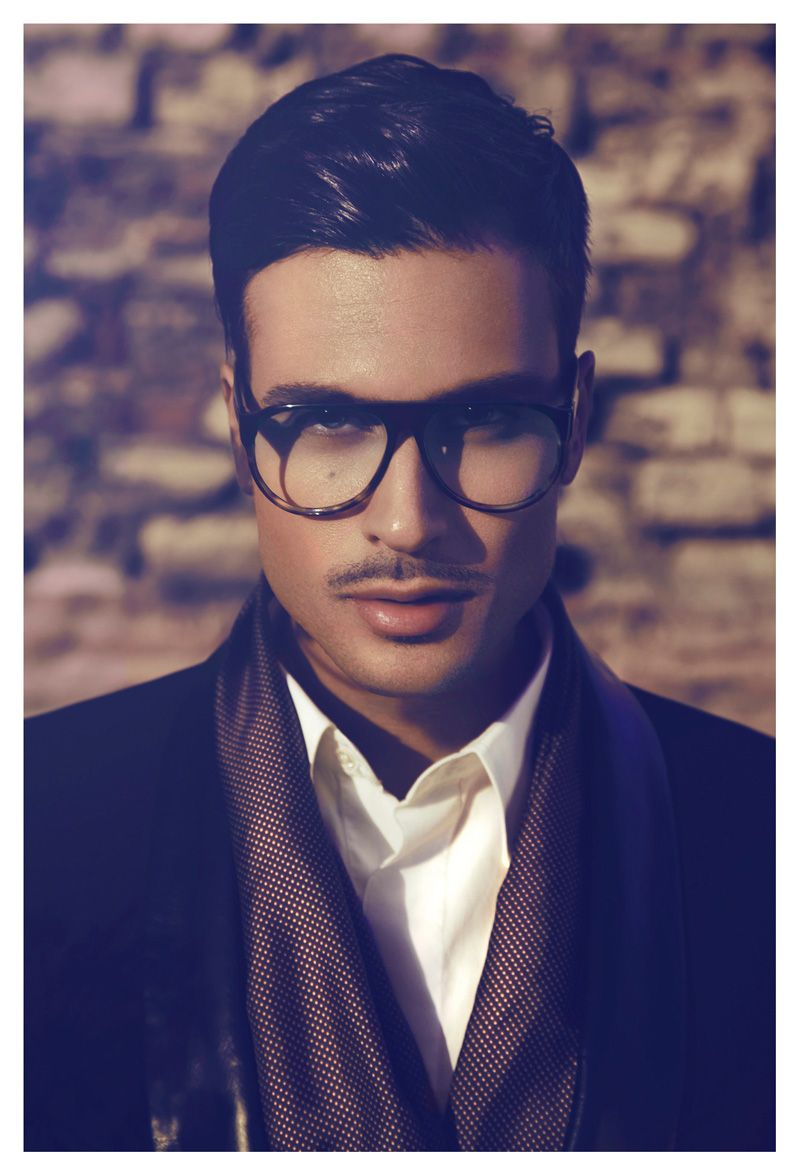 Haircuts for men with glasses pascal bier by bernard gueit for fashionisto exclusive  style men