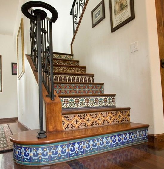15 Incredible Mediterranean Staircase Designs That Will: 15 Creative Ideas To Decorate Your Stair Risers