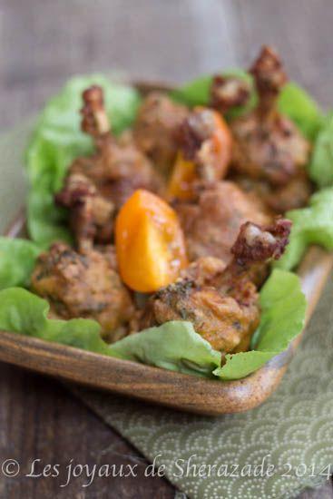 Beignet d 39 ailes de poulet recette recette du mois d 39 aout poulet ailes de poulet et beignets - Cuisiner des ailes de poulet ...