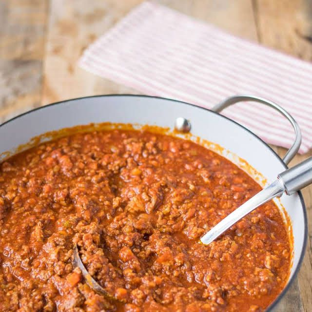 Traditional Bolognese Sauce Recipe | Yummly