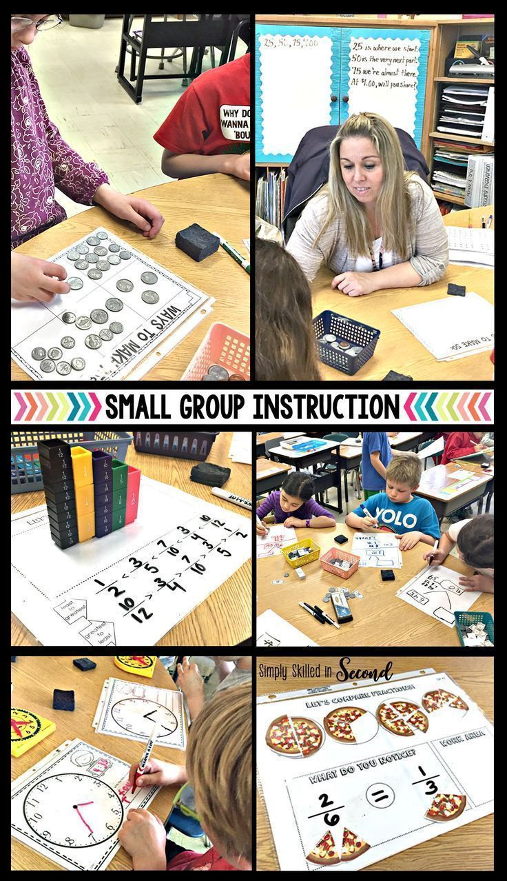Guided Math Small Group Instruction Pinterest Math Groups