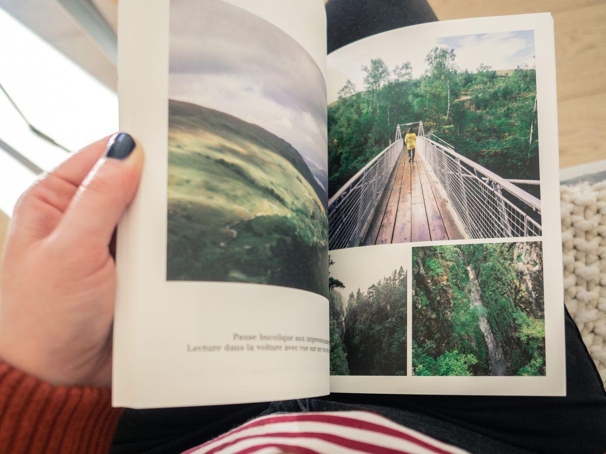 Un Album Photos Rosemood Comme Souvenir De Voyage Livre Photo Photo Book Album Photo
