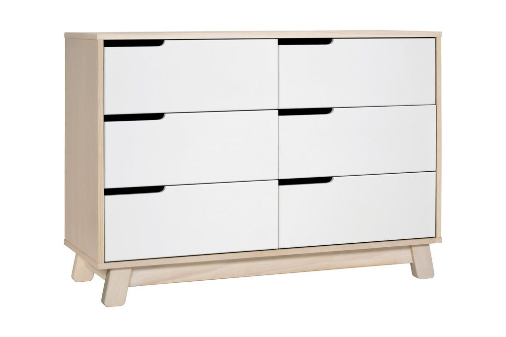 Best Hudson 6 Drawer Assembled Double Dresser Double Dresser 400 x 300