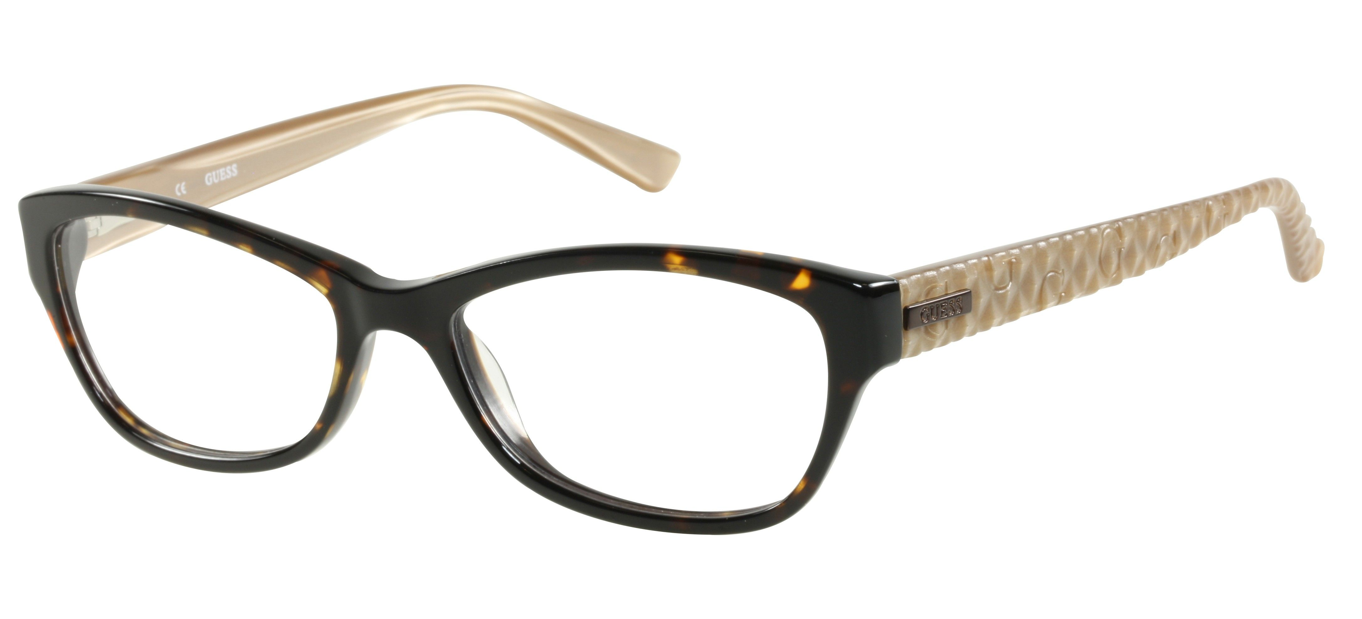Brown & beige GUESS Frames for her   GUESS Brille   Abele-Optik ...