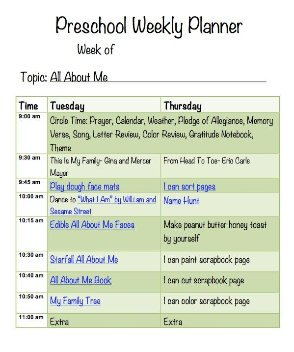 All About Me Lesson Plan Pic  Mmo    Homeschool