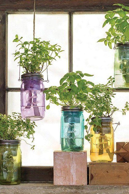 17 Ideas para decorar tu cocina con plantas aromáticas | Pinterest