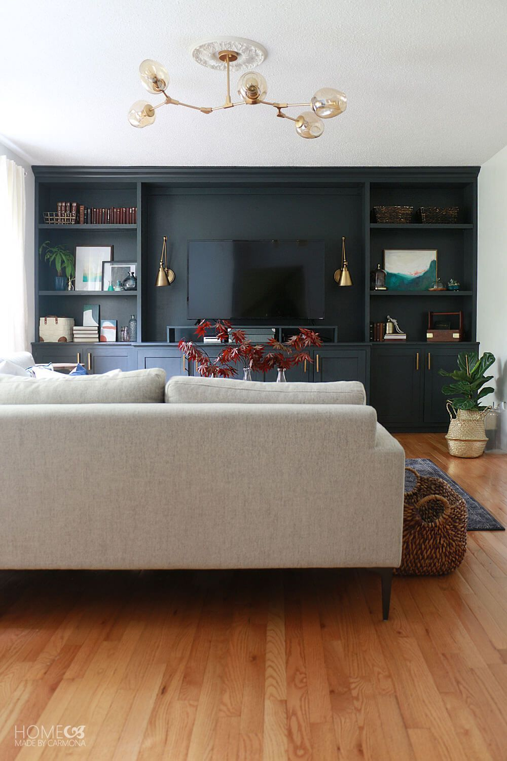 Photo of Living Room Makeover Reveal – Home Made By Carmona