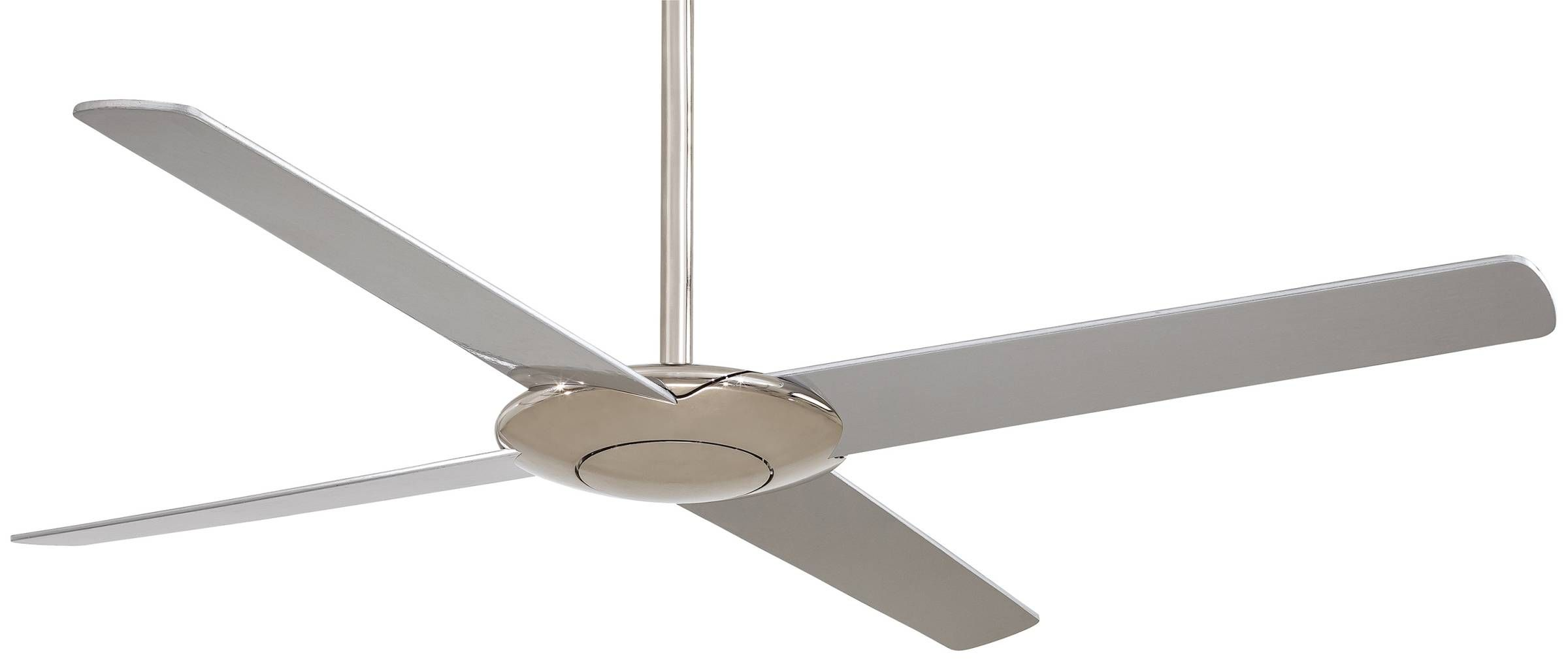 Minka Aire Pancake Ceiling Fan Mf F738 Bn In Brushed Nickel