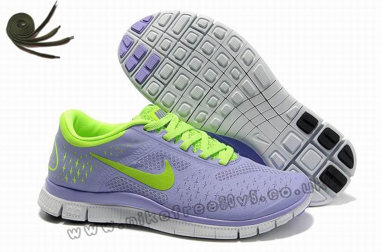 Anti Skid Medium Violet Electric Vert Pure Platinum Nike Free