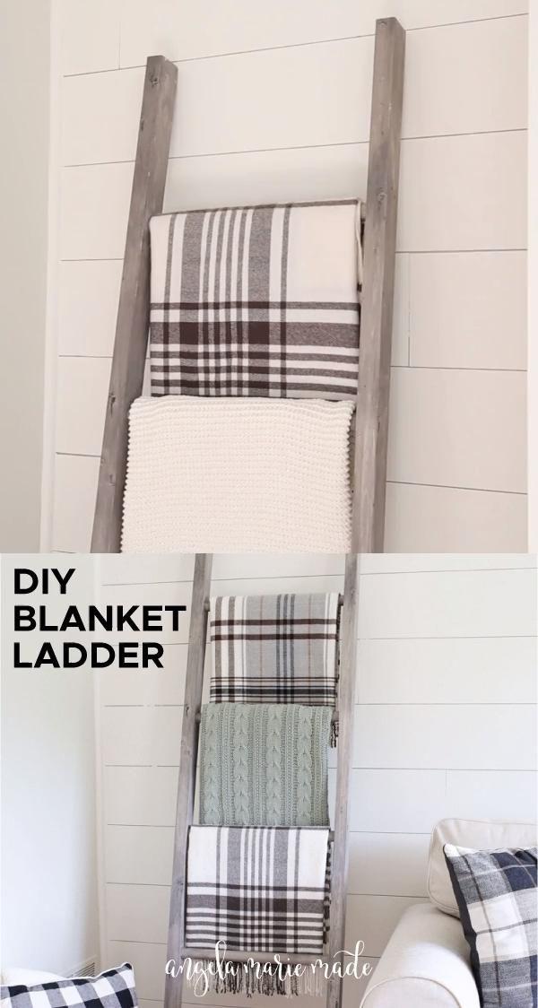 Photo of Easy DIY Blanket Ladder – Angela Marie Made