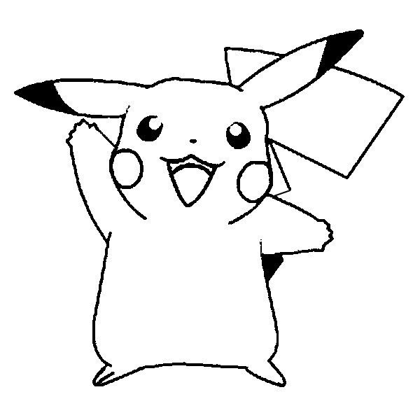 Pikachu Outline Please Use Liked On Polyvore Featuring Fillers Pokemon Outlines Black Pikachu And Backgrounds Pikachu Coloring Page Pokemon Coloring Pages Pokemon Coloring