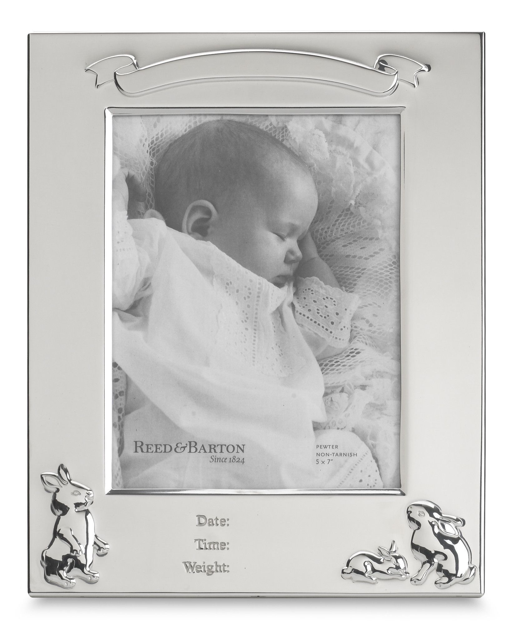 Bunny Birth Record Picture Frame Products Pinterest Birth