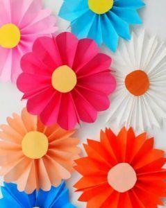 Photo of #Farbe #Dekoration #Einfache #Blumen #Kinder #origami