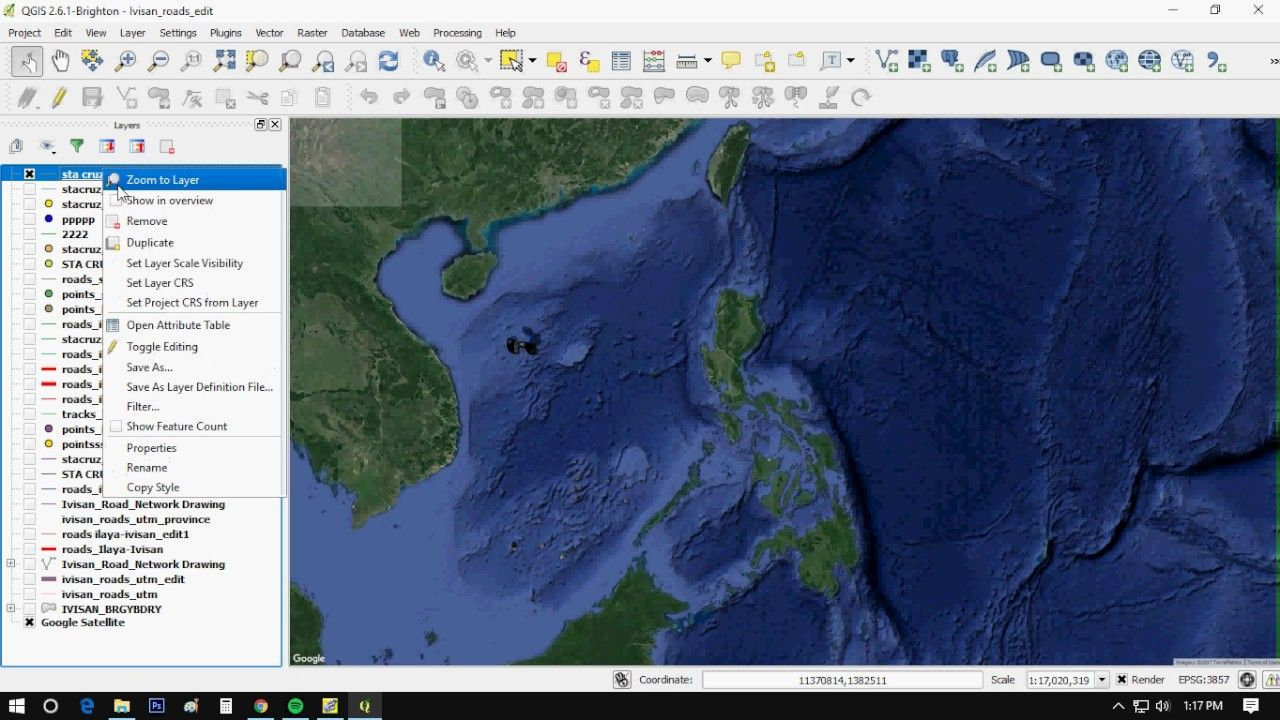Overlay Google Maps Using QGIS | Geospatial / GIS | Overlays