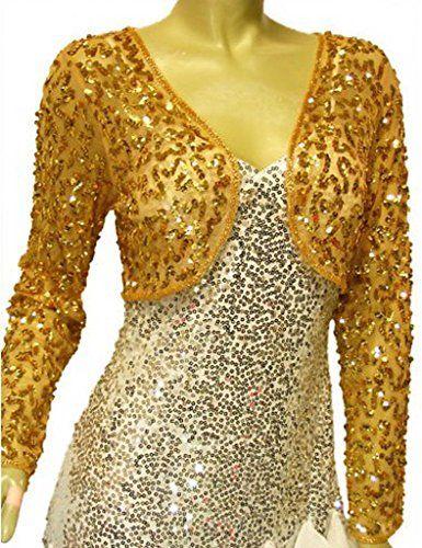 Alivila.Y Fashion Mesh Sequins Long Sleeve Bolero Shrug Jacket 3051-Gold-One Size Fits Size 2 to 10 Alivila.Y Fashion http://www.amazon.com/dp/B00C09I3I0/ref=cm_sw_r_pi_dp_hDi3vb0YTNNN4