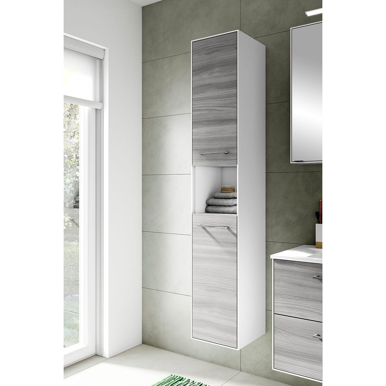 Hochschrank Fokus 3065 Badezimmer Hochschrank Schrank Mit Glasturen Hochschrank