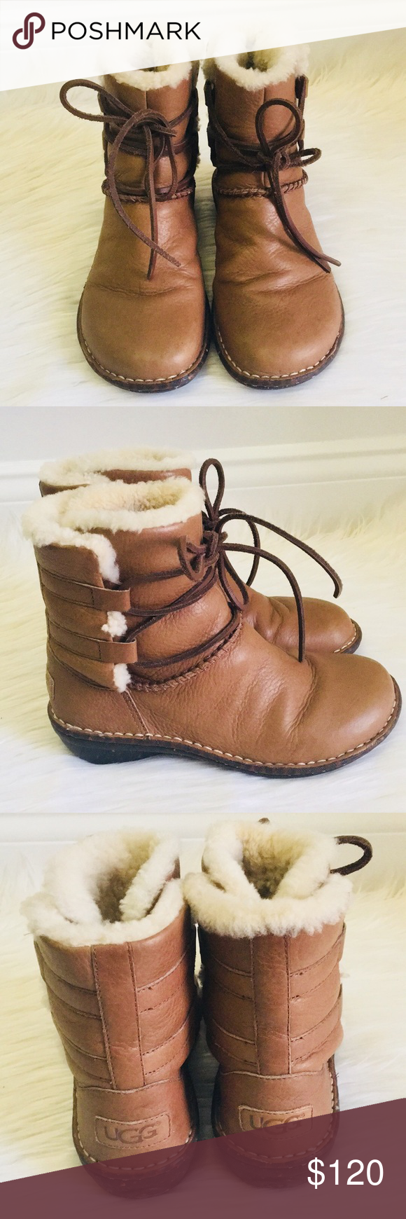 ab3bc5f5788 UGG Luisa Leather Boots UGG Luisa Leather Boots Still in great ...