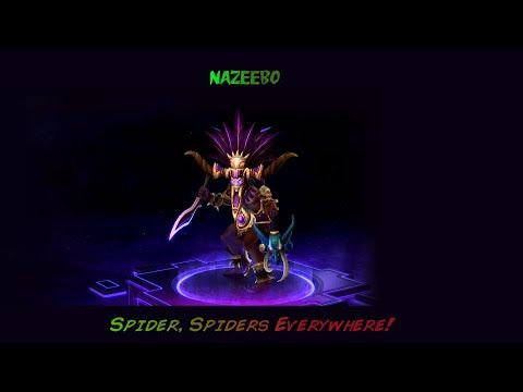 Heroes Of The Storm Gameplay Nazeebo Spiders Build Heroes Of The Storm Storm Hero This nazeebo guide will talk about the. pinterest