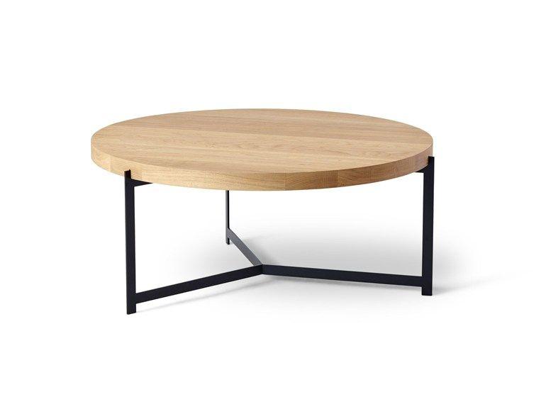 Table Basse Ronde En Bois Plateau Table Basse De Salon By Dk3 Design
