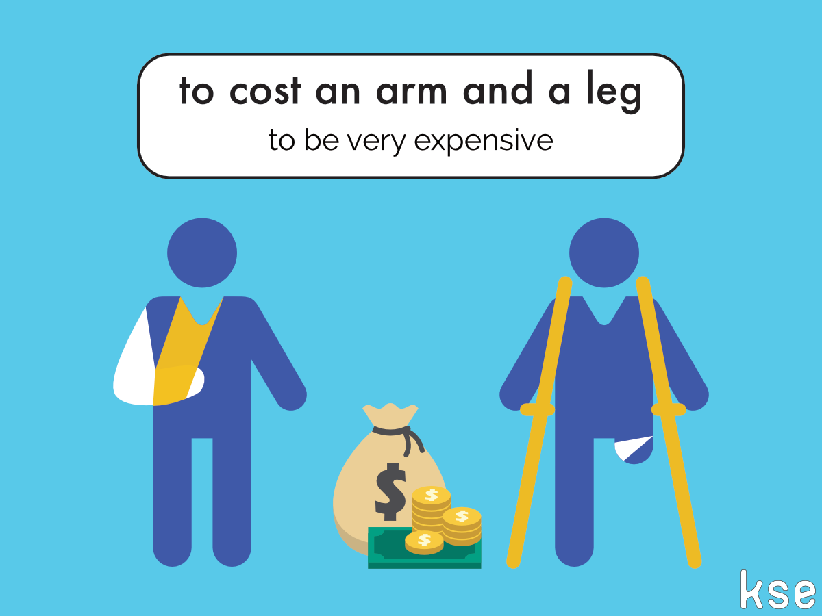 An Arm And A Leg Idiom Meaning In Hindi New Idiom To Cost An Arm And A Leg Example The Coat Had Cost Him An Arm And A Leg Vocabulario En Ingles Idioma Ingles Ingles