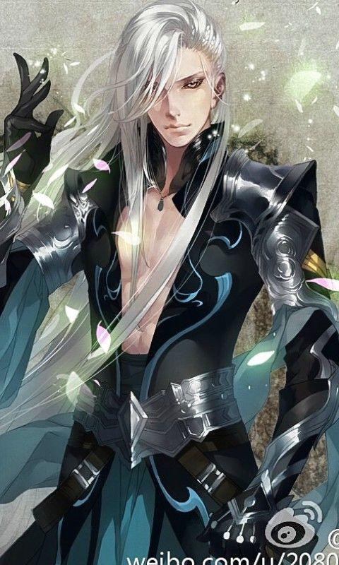So Gorgeous Looking 3 Anime Elf Fantasy Art Men Anime Guys