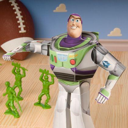 3d Buzz Lightyear Toy Story Crafts And Recipes Disney Disney