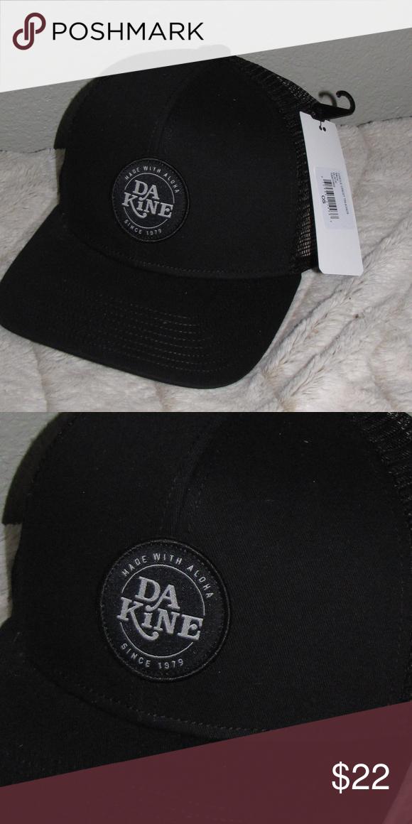 New NWT Dakine Circle Crest Trucker Hat New NWT Dakine Circle Crest Trucker  Hat Cotton twill 07f8f2fe20be